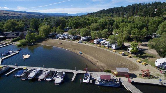 Wood Lake Resort Rv Park Amp Marina Okanagan Bc